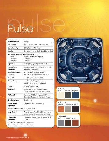 Pulse® - Aquatech Pools & Spas