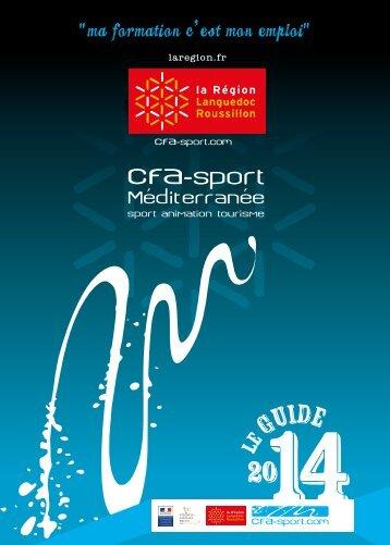 Guide CFA - CFA Sport Méditerranée