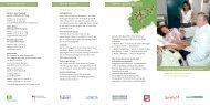 Flyer Sprach- und Kulturmittler im Gesundheitswesen - Transkom