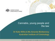 Victorian Illicit Drug Markets - National Cannabis Prevention and ...