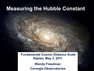 Measurements of the Extragalactic Distance Scale
