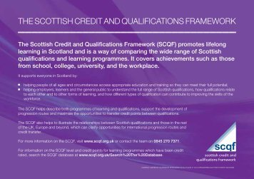 SCQF A6 Postcard Upd.. - Scottish Credit and Qualifications ...