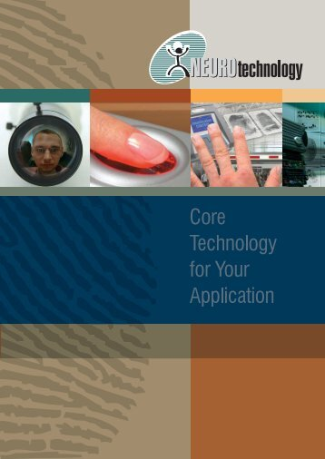 Neurotechnology Company Brochure