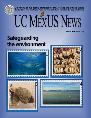 Number 43, Spring 2006 - UC Mexus - University of California ...