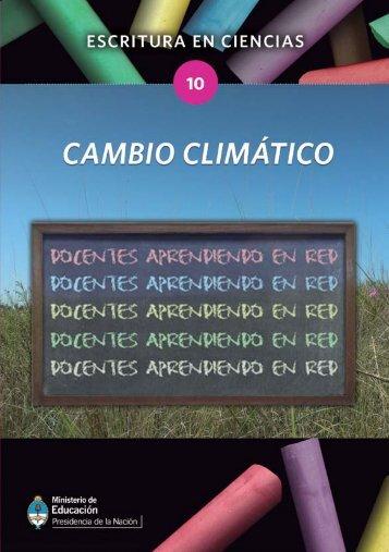 Cambio climatico - Cedoc - Instituto Nacional de Formación Docente