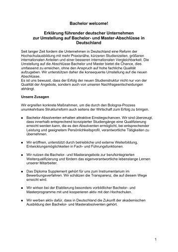Bachelor welcome - Duales Studium Hessen