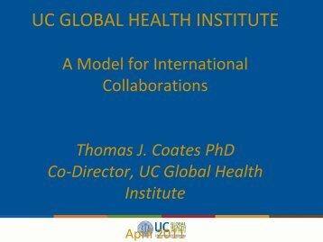 Presentation slides - UC Mexus