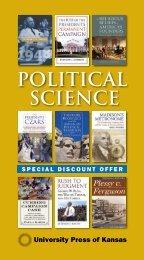 POLITICAL SCIENCE - University Press of Kansas