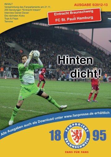Heft 05: FC St. Pauli - FanPresse Braunschweig
