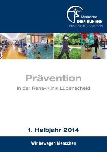 Prävention - Märkische Reha Kliniken GmbH