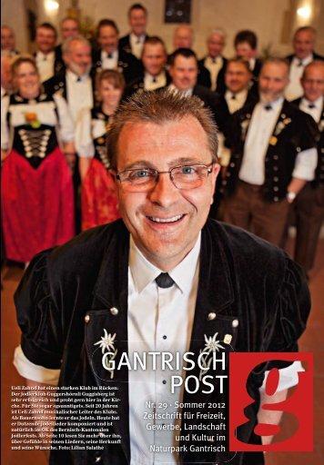 Nr. 29, Sommer 2012 (PDF, 8.2 MB) - Gantrischpost