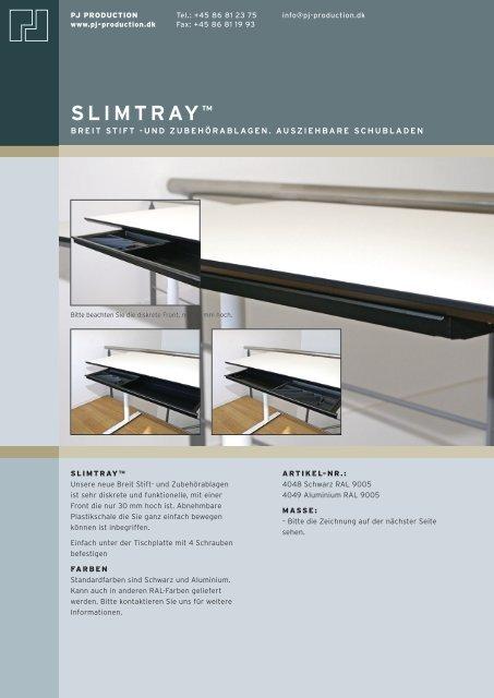 SLIMTRAY™ - PJ Production
