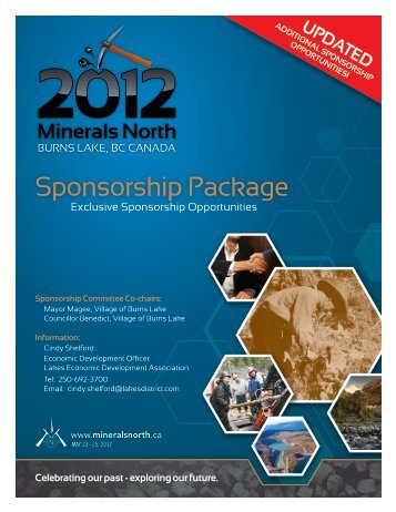 Sponsorship Package - Minerals North
