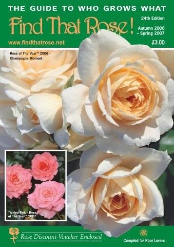 THE GUIDE TO WHO GROWS WHAT - Roses UK