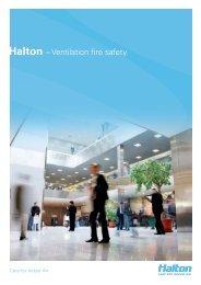 Halton – Ventilation fire safety