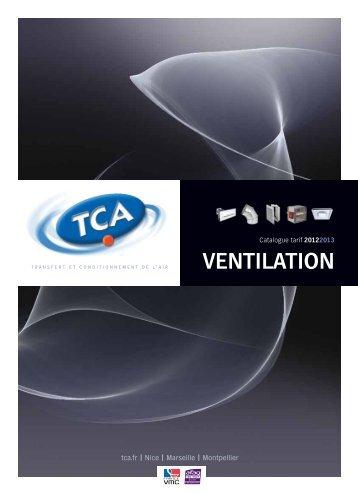 Traitement de l'air Télécharger le PDF - TCA