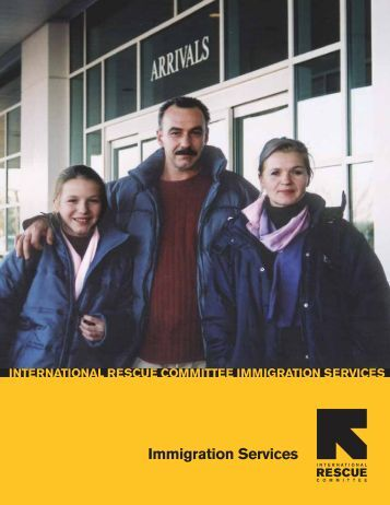 Immigration Services - International Rescue Committee
