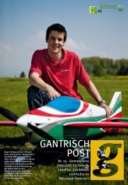Nr. 25, Sommer 2011 - Gantrischpost
