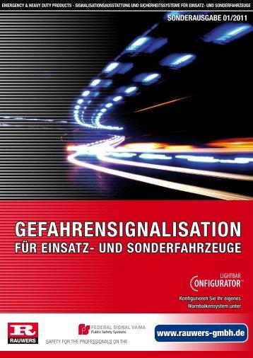 GEfAHREnSiGnAliSAtion füR EinSAtz- UnD ... - Rauwers GmbH
