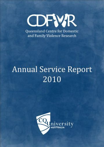8. financial report - Qld Centre for Domestic and Family Violence ...