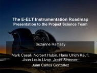 The E-ELT Instrumentation Roadmap
