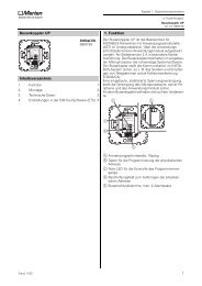 Busankoppler UP Inhaltsverzeichnis 1. Funktion - Eibmarkt.com