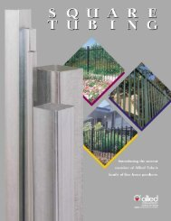 Ornamental Square Tubing - Anchor Fence Wholesalers