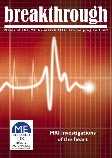 Download a pdf version (1.4 MB) - ME Research UK