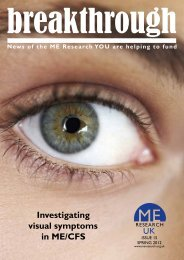 Download a pdf version (1.1 MB) - ME Research UK