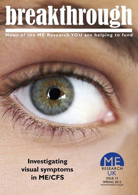 Download a pdf version (1.1 MB) - ME Research UK