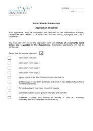 application form.pdf - Universities New Zealand - Te Pōkai Tara