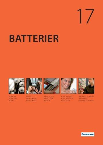 BATTERIER - C. Flauenskjold A/S