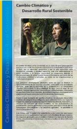 Cambio Climático y Desarrollo Rural Sostenible - Gestión del ...