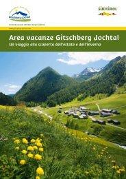 Area vacanze Gitschberg Jochtal