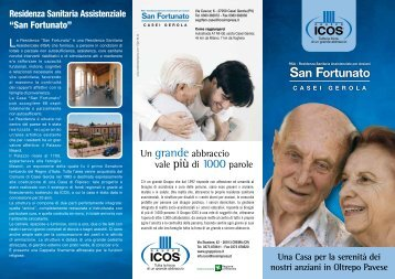 Flyer_San Fortunato 12.pdf - LaCasadiRiposo.it