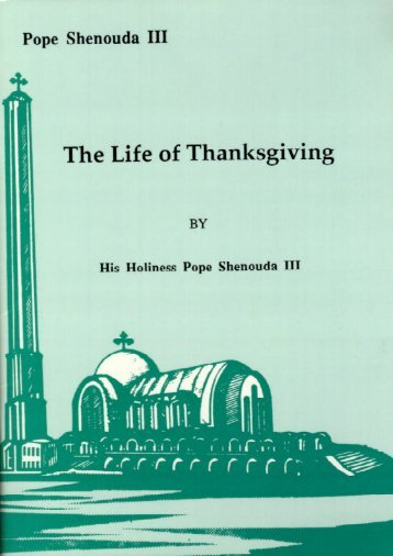 The Life of Thanksgiving.pdf - Canadian Coptic Centre