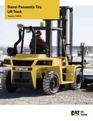 Diesel Pneumatic Tire Lift Truck - Kelly Tractor