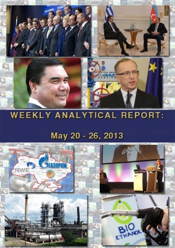 Weekly analytical report: May 20 - 26, 2013 - Українська ...