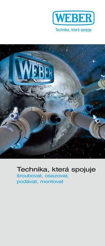 Technika, která spojuje - Weber Schraubautomaten