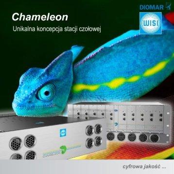 Stacja Czołowa CHAMELEON - Ulotka - WISI Communications