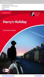 Harry's Holiday - Cambridge University Press