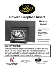R e v e r e Fireplace Insert - Percy Guidry