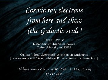 Cosmic ray electrons from here and there (the Galactic scale)