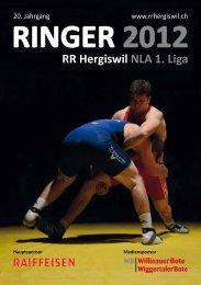 RINGER 2012 RR Hergiswil NLA 1. Liga