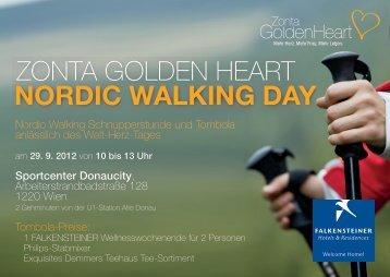 nordic walking day - Zonta Golden Heart
