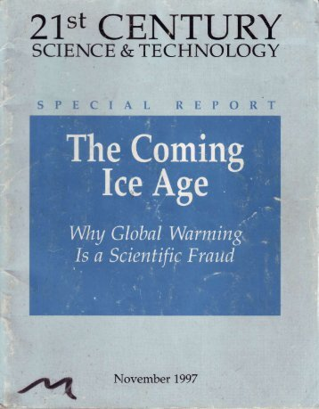 The Coming Ice Age Why Global Warming Is a Scientific Fraud