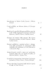 e introduzione - Centro di analisi delle politiche pubbliche