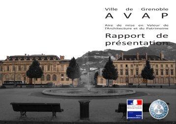 1. rapport de présentation AVAP - Grenoble