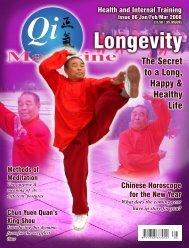Issue 86 - Tse Qigong Centre