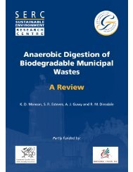 Anaerobic Digestion of Biodegradable Municipal Wastes: A Review
